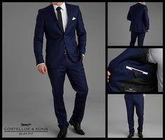 Paul Costelloe Carney Ocean Blue Slim Fit Suit http://www.paulcostelloeman.co.uk/catalogue/carney-ocean-blue-slim-fit-suit/index.html