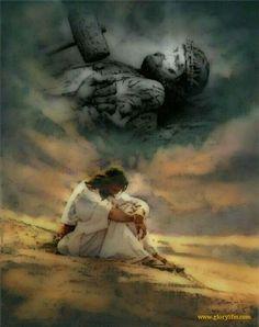 Oración en el huerto y el dolor que sentía Jesús en ese momento.