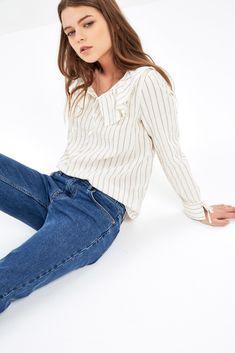Lexy striped blouse