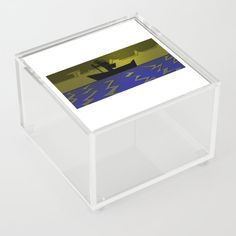 The Fearless Voyage Acrylic Box by edream Acrylic Box, Cute Gifts, Decorative Boxes, Container, Travel, Beautiful Gifts, Decorative Storage Boxes