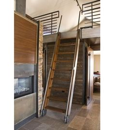10 Ways Library Ladders Give Rooms a Lift