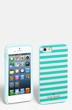 kate spade new york 'petula stripe' iPhone 5 case available at #Nordstrom
