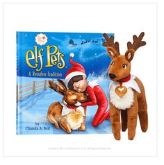 The Elf on the Shelf: Elf Pets A Reindeer Tradition
