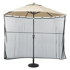 #Classic #Accessories #6 #ft. #Umbrella #Shade #Screen Dimensions: 70W x 158H in. Durable woven mesh #Screen protects from direct sunlight https://homeandgarden.boutiquecloset.com/product/classic-accessories-6-ft-umbrella-shade-screen/