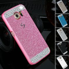 Diamond clear crystal cell phone case for Samsung Galaxy S6 S6Edge S7 S7 Edge Fashion Glitter powder rhinestone bling back cover Digital Guru Shop  Check it out here---> http://digitalgurushop.com/products/diamond-clear-crystal-cell-phone-case-for-samsung-galaxy-s6-s6edge-s7-s7-edge-fashion-glitter-powder-rhinestone-bling-back-cover/
