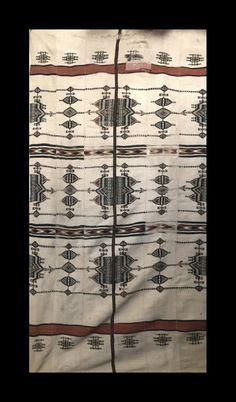1014 Fulani Woven Blanket