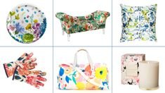 Watercolor florals are blooming in home decor, accessories, and more