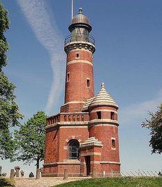 Lighthouse: Leuchturm Holtenau