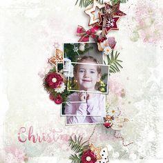 Digital Art :: A Christmas Full of Love Page Kit