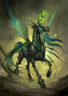 The amazing queen chrysalis in real form.From mlp fim