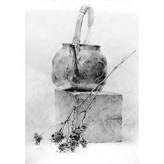 하얀나무드로잉 - Google 검색 Still Life Sketch, Still Life Drawing, Still Life Art, Pencil Art, Pencil Drawings, Art Drawings, Object Drawing, Drawing Exercises, Creta