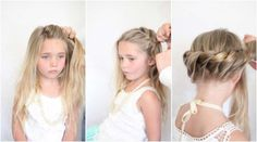 twisted bun tutorial little girls. Someday Clara will have long enough hair for this... someday.