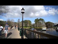 Disney Park Bench  Disney's Port Orleans Riverside - Bridge
