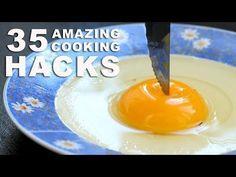 35 INCREDIBLE COOKING HACKS - YouTube