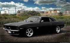 American Muscle Cars - 1969 Camaro SS 396