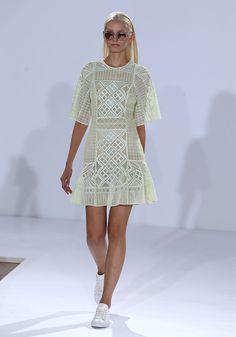 Temperley London: Runway - London Fashion Week SS15