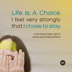 """""""Life is a choice"""""""