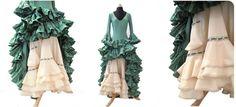 Cómo hacer un vestido de flamenca. Parte IV. La enagua