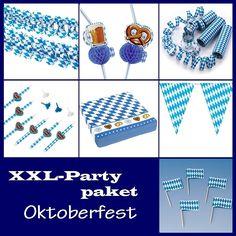 Partypaket Oktoberfest - XL Deko Komplettpaket zur Bayern Party
