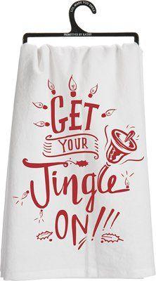 "Dish Towel - ""Jingle On"", Set of 3 Heart of America http://www.amazon.com/dp/B015ALU6HA/ref=cm_sw_r_pi_dp_KEviwb0YJPVYB"