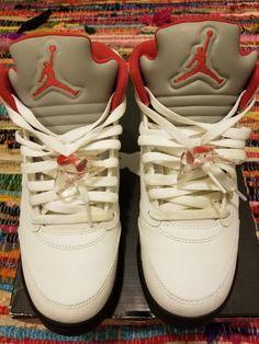 4398f60243775a Authentic Nike Air Jordan Retro 5 big kids boys size 7y  fashion  clothing