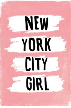 New York City Girl, via Etsy