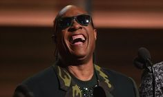 Stevie Wonder stole the show tonight but followed the banter with a serious message: 'We need to make every single thing accessible to every person with a disability'