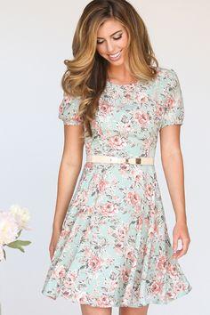 Floral Dresses, Floral Print Dresses – Morning Lavender just needs to be longer