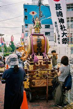 snap from local omatsuri Japan Travel, Ferris Wheel