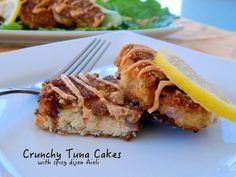 These low carb, grain free tuna cakes are scrumptious and have less than one gram of carb per cake. Delicious!