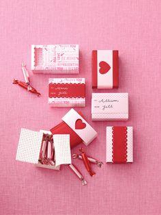 valentine box papercraft