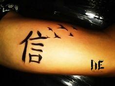 Kanji Tattoo, Fé , Faith...