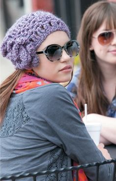 Celebrity Slouchy Beanies for the Family Book 2 from Leisure Arts. #crochet #beanie