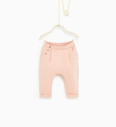 Posebukse-SKIRTS AND TROUSERS-Baby Jente---BARN | ZARA Norge