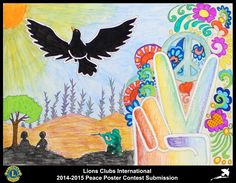 2014-15 Lions Clubs International Peace Poster Competition submission from Almada Tejo Lions Club in Portugal
