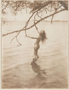 'The Bather', by C Yarnall Abbott, c. 1900