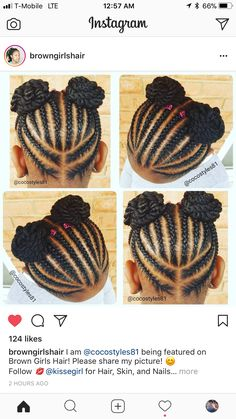 ◀Previous Post Next Post▶ natural hairstyles Toddler Braided Hairstyles, Toddler Braids, Lil Girl Hairstyles, Black Kids Hairstyles, Natural Hairstyles For Kids, Princess Hairstyles, Braids For Kids, Girls Braids, Natural Hair Styles