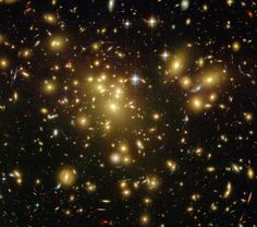 Galaxy Cluster Abell 1689 #space