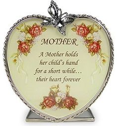 Mom Gifts – Glass Heart Candle Holder – A Mother Holds Her Child's Hand for a Short While Their Hearts Forever – Mom Birthday Gift – Mother-in-law – Mom to Be – Grandma – Great Grandma: Mother's Day Gift Grandmas Mothers Day Gifts, Mothers Day Presents, Mother Day Gifts, Mom Gifts, Mother Poems, Mom Poems, 16th Birthday Gifts, Mother Birthday Gifts, I Love You Mom