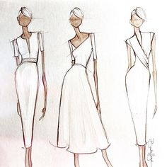 Fashion design ideas best clothing sketches ideas on fashion design fashion design ideas for beginners . Fashion Design Sketchbook, Fashion Design Drawings, Fashion Sketches, Silhouette Mode, Fashion Sketch Template, Fashion Illustration Dresses, Fashion Illustrations, Model Sketch, Clothing Sketches
