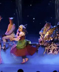 Magic Dress…this is the coolest gif of Cinderella's transformation