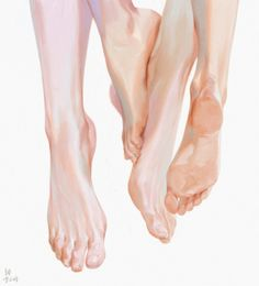 ~ - Rain Best Picture For Illustrations girl For Your Taste You are looking for something, and i. Feet Drawing, Body Drawing, Anatomy Drawing, Human Anatomy, Figure Drawing, Life Drawing, Drawing Tips, Body Reference, Anatomy Reference