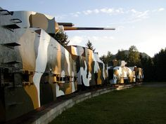 Armoured trains used by the Slovic Resistance in the Fall of 1944.
