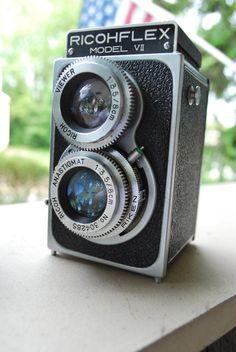 Clean Vintage Camera RicohFlex Model VII by CityFarmhouseAntique, $80.00