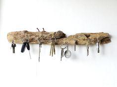 Driftwood Key Hanger Driftwood Jewellery Organiser