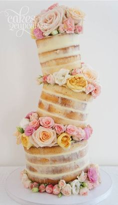 beautiful naked cake...