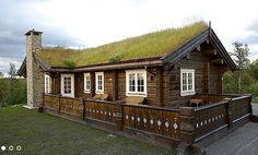 Bilderesultat for tømmerhytter norge Scandinavian Home, House In The Woods, House Styles, Cabins, Inspiration, Google, Houses, Home Decor, Mountains