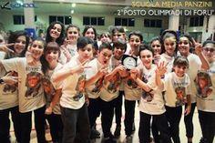 """Olimpiadi della Danza 2015. Il 7 marzo 2015 alle Olimpiadi della Danza che si sono tenute a Forlì la """"Panzinian Crew - Bellaria"""" gruppo Kschool con la coreografia di Gionata Jonny Galdenzi ha conquistato il 2° posto."""
