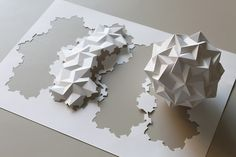 Dodecahedron Paradigma by Prof. YM on Flickr.A través de Flickr: Modular Paper Sphere inspired by Kusudama Origami Paradigma by Ekaterina Lu...