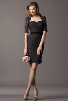 Elegant lace- Watters bridesmaid dress